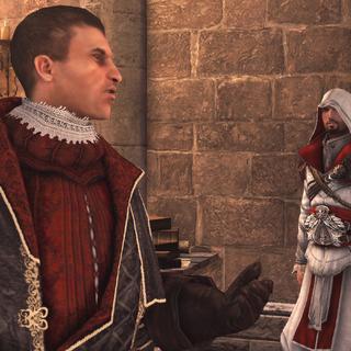 Machiavelli praat over de bondgenoten van de Assassijnen in de stad