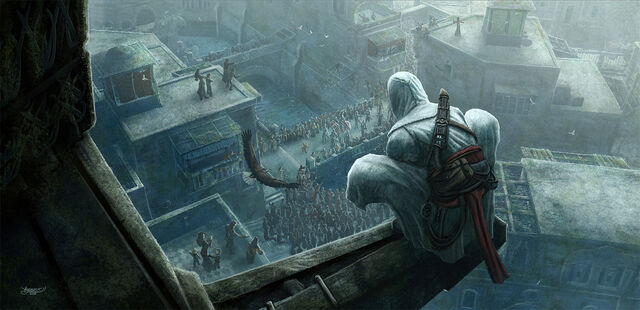 File:Assassin s Creed Fanart by kerembeyit.jpg