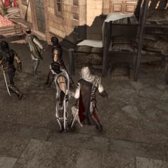 Ezio vergiftigd een <a href=