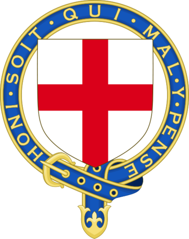 File:Arms of the Most Noble Order of the Garter.png