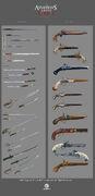ACRG Weapons - Concept Art