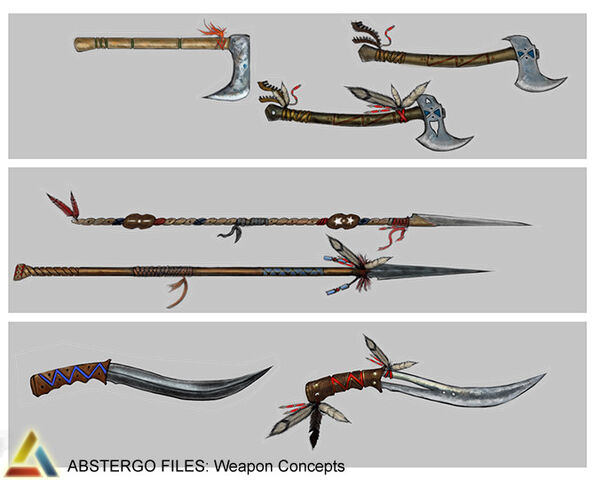 File:Assassin's Creed 3 Multiplayer Weapon Design 04 by trebor7.jpg