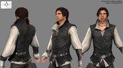 Ezio models by Nicolas Collings