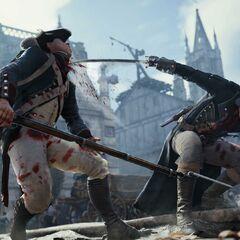 阿尔诺杀死一名守卫