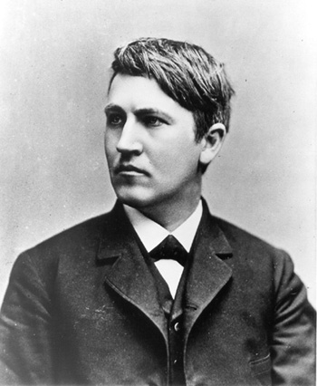 a biography of thomas alva edison an inventor Scholastic biography by margaret davidson the story of thomas alva edison, inventor - the wizard of menlo park  higher-order, quality questions from each chapter, i.