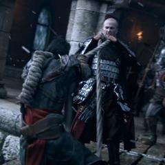 Ezio ontsnapt aan de Tempeliers