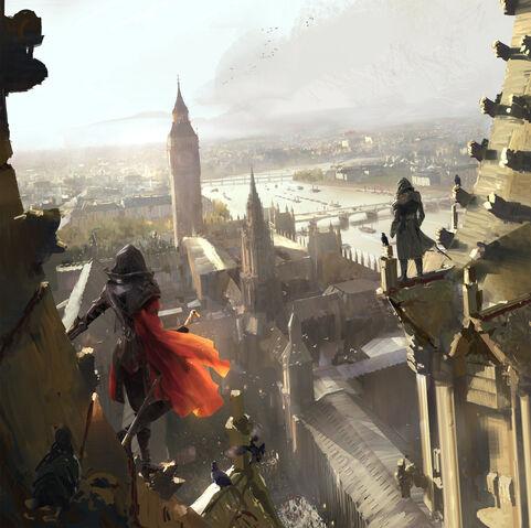 File:ACS High Above London - Concept Art.jpg