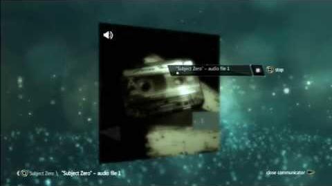 Subject Zero - audio file 1