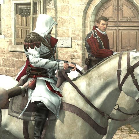 De zakkenroller steelt van Ezio
