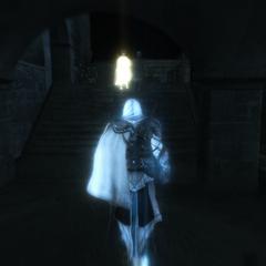 Ezio volgt Giuletta.