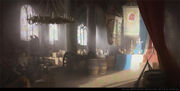 ACU Notre-Dame Altar - Concept Art