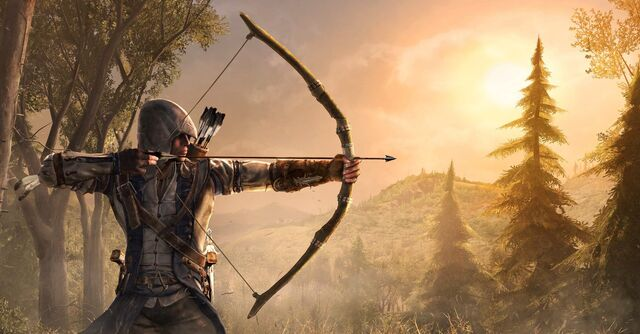File:Bow and Arrow in-game.jpg
