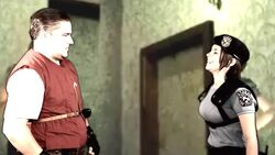 Barry and S.T.A.R.S. Jill