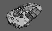Outpost ship concept