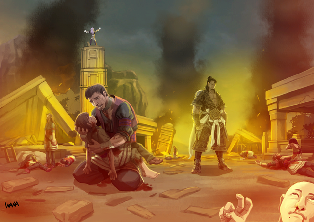 File:Yasha during the aftermath of a Gohma Attack.png