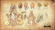 Asura's Wrath-Emperor Strada Artwork