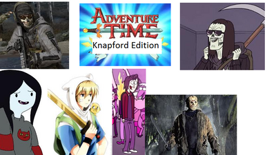 Adventure Time Knapford Edition title card