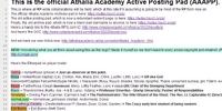 Athalia Academy Active Posting Pad