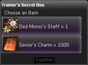 Trainer's Secret Box