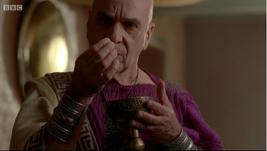 Melas finds poison