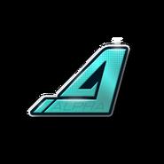 Alpha Platinum-Emblem