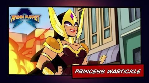 Atomic Puppet - Princess War Tickle - Video Profile