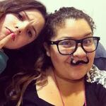 Raini Rodriguez and Laura Marano8