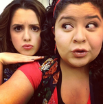 Raini Rodriguez and Laura Marano7