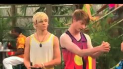 Austin and Ally Beach Clubs and BFF's 20