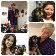 Cast with Pixie