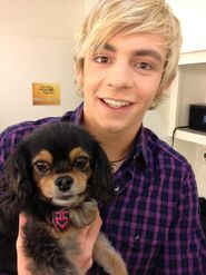 Pixie with Ross