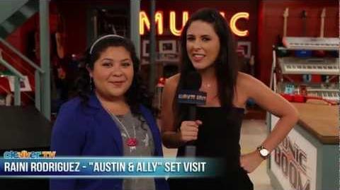 "Raini Rodriguez Interview - ""Austin & Ally"" Set Visit"