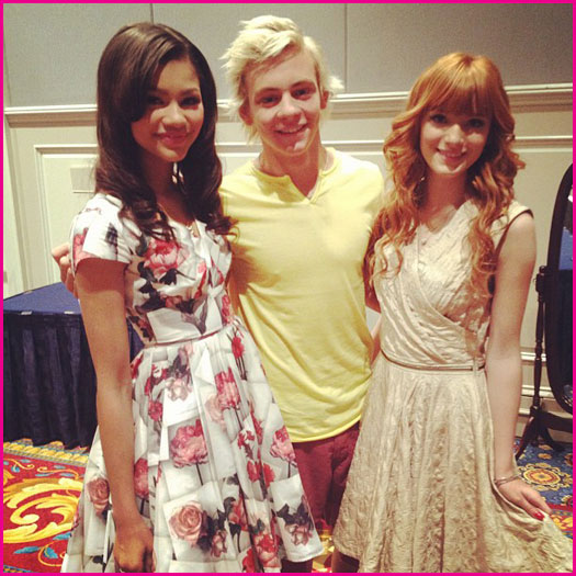 Zendaya And Ross Lynch Kissing Image - Bella-Thorne-Z...