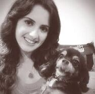 Laura Marano and Pixie