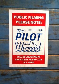 The Pilot and the Mermaid poster