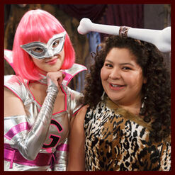 Raini and Laura Halloween