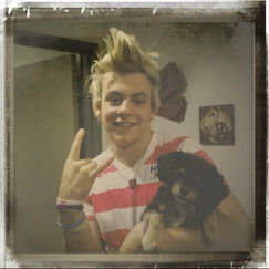 Ross with Pixie (1)