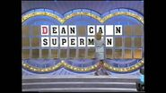 Adriana Xenides turning the letters over on wheel of fortune -family week photo 2