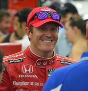 Scott Dixon at the 2013 Grand Prix of Baltimore
