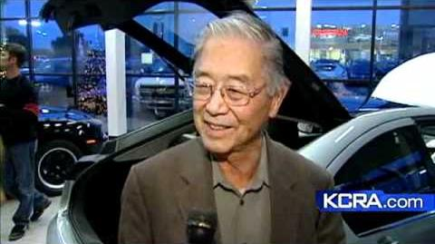 Pioneering UCD Prof Gets Chevy Volt