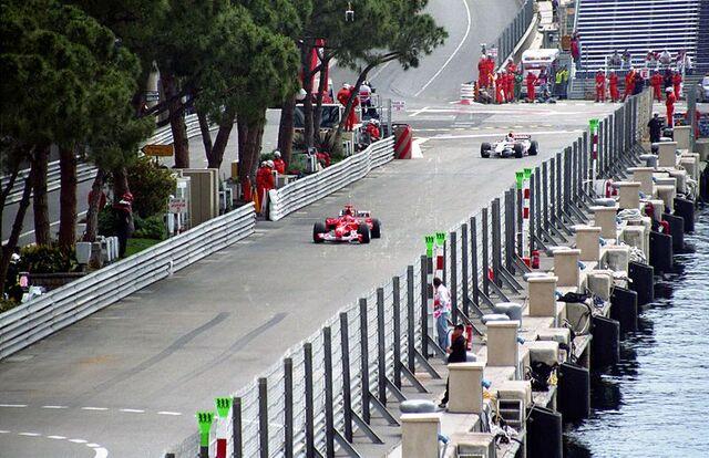 File:Schmacher and Sato at Monaco 2004.jpg