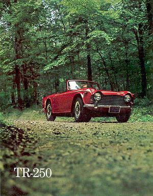 Triumph TR250 brochure 68