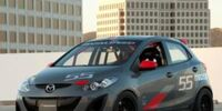 Mazda Mazda2 Evil Track Concept