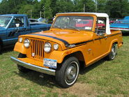 1971 Jeepster Commando SC-1 pickup orange l-Cecil'10