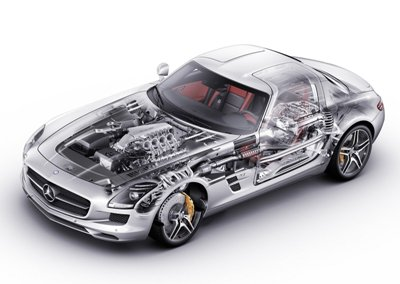 Mercedes-Benz-SLS AMG 2011 1600x1200 wallpaper 7csmall