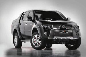 Mitsubishi Ralliart (TMR) Triton concept 1