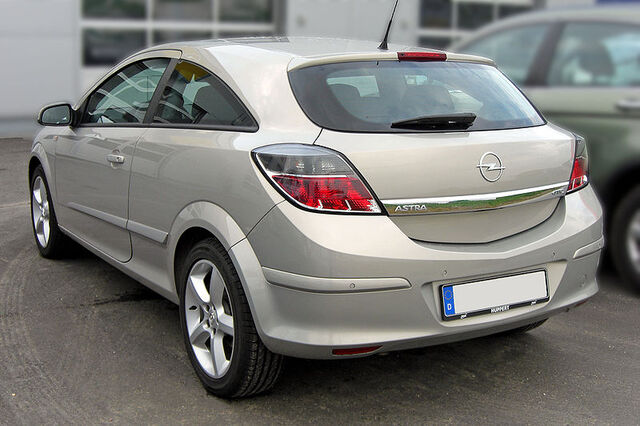 File:Opel Astra H GTC Facelift 20090507 rear.jpg