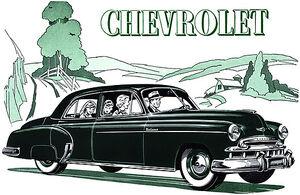 Chevrolet Styleline De Luxe 4-Door Sedan 49