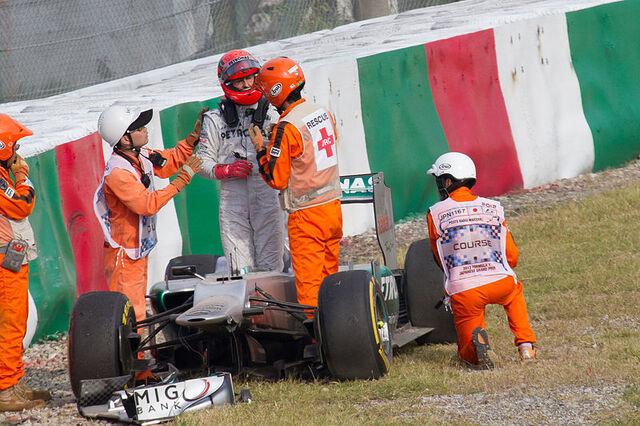 File:Michael Schumacher after crash 2012 Japan FP2.jpg