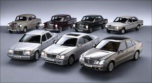 Mercedes-Benz E-Class Lineup 1